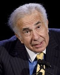 Investor and business magnate Carl Icahn
