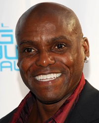 Olympic Sprinter and Long jumper Carl Lewis