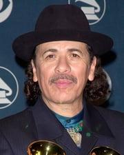 Musician Carlos Santana