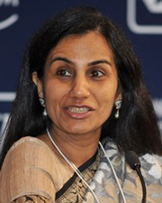 Businesswoman and CEO of ICICI Bank Chanda Kochhar
