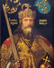 Holy Roman Emperor Charlemagne
