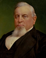Business Tycoon and Railroad Executive Charles Crocker