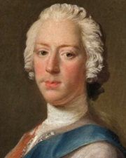 Pretender to the British throne Bonnie Prince Charlie