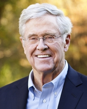 CEO of Koch Industries Charles Koch