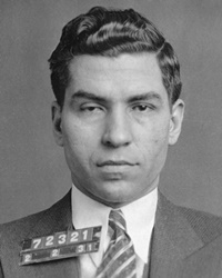 """NYC Gangster Charles """"Lucky"""" Luciano"""