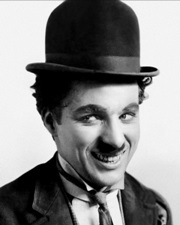 Comedian, Actor and Filmmaker Charlie Chaplin