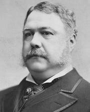 21st US President Chester A. Arthur