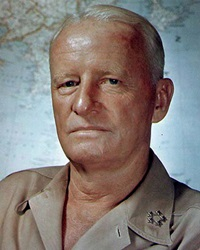 US Admiral Chester Nimitz