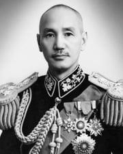 Chinese Military and Political Leader Chiang Kai-shek