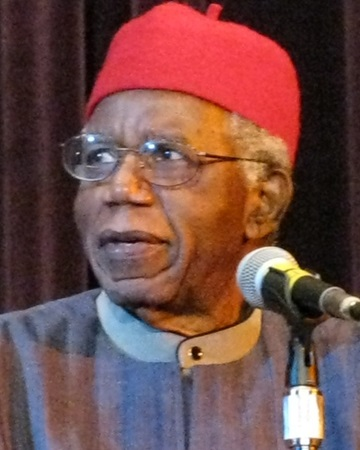 Novelist and Poet Chinua Achebe