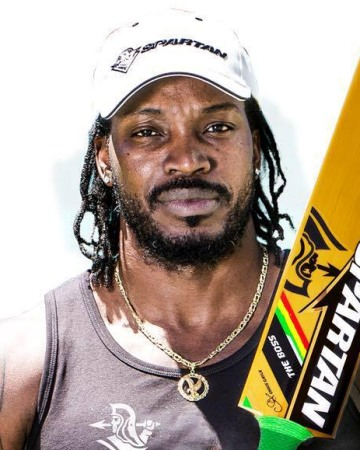 Cricketer Chris Gayle