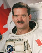 Astronaut Chris Hadfield