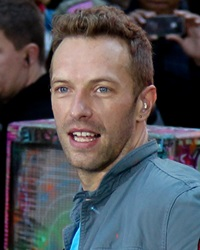Lead Vocalist of Coldplay Chris Martin