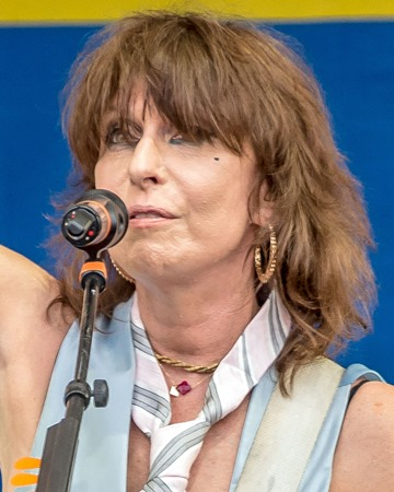 Singer-songwriter and Musician Chrissie Hynde