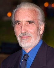 Actor Christopher Lee