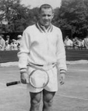 Tennis Player Wimbledon Champion Chuck McKinley