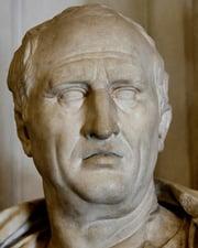 Roman Statesman & Philosopher Cicero