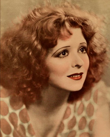 Silent Screen Actress Clara Bow