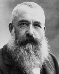 Impressionist Painter Claude Monet