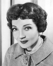 Actress Claudette Colbert