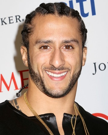 NFL Player and Civil Rights Activist Colin Kaepernick