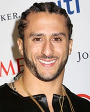 NFL Player and Activist Colin Kaepernick