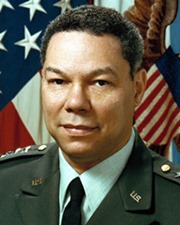 General and US Secretary of State Colin Powell