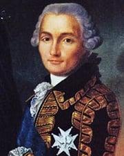 Military Leader Comte de Rochambeau