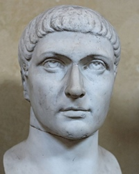 Roman Emperor Constantine the Great
