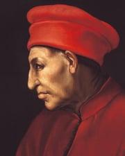 Florentine Ruler and Arts Patron Cosimo de Medici