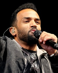 Singer-songwriter Craig David