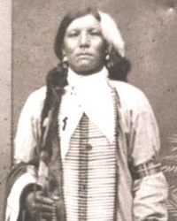 Native American War Leader Crazy Horse