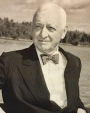 Steel Magnate Cyrus S. Eaton