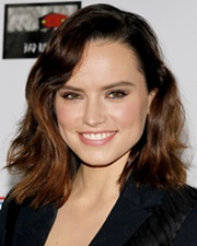 Actress Daisy Ridley