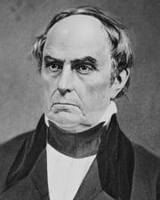 American Statesman Daniel Webster