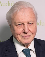 Natural History filmmaker and TV personality David Attenborough