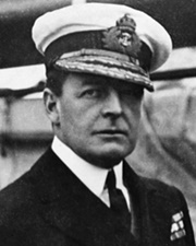 British Admiral of the Fleet David Beatty