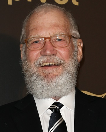 Comedian and Television Host David Letterman