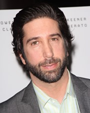 Actor David Schwimmer