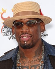 Basketball Player Dennis Rodman