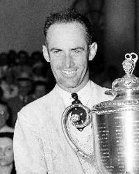 Golfer and Three-Time Major Championship Winner Denny Shute