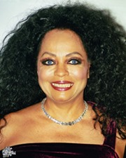 Singer and Actress Diana Ross