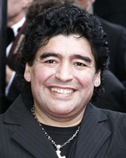 Football Legend Diego Maradona