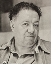 Painter Diego Rivera