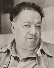 Painter Diego Rivera