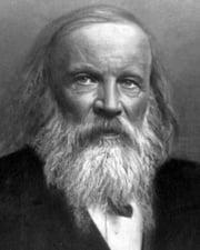 Chemist and Inventor Dmitri Mendeleev