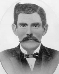 Gunfighter in the American Old West Doc Holliday