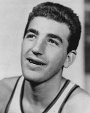 NBA Power Forward and Coach Dolph Schayes