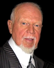 Ice Hockey Coach and Commentator Don Cherry