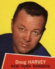NHL Legend Doug Harvey